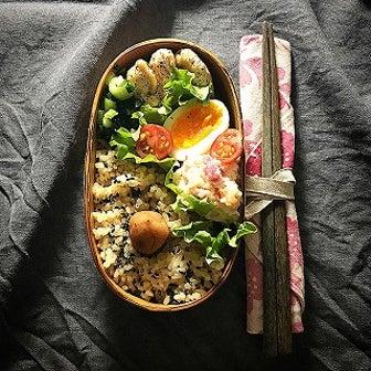 【女子弁191】とりささみの小松菜ソース弁当