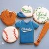 少年野球のアイシングクッキーの画像