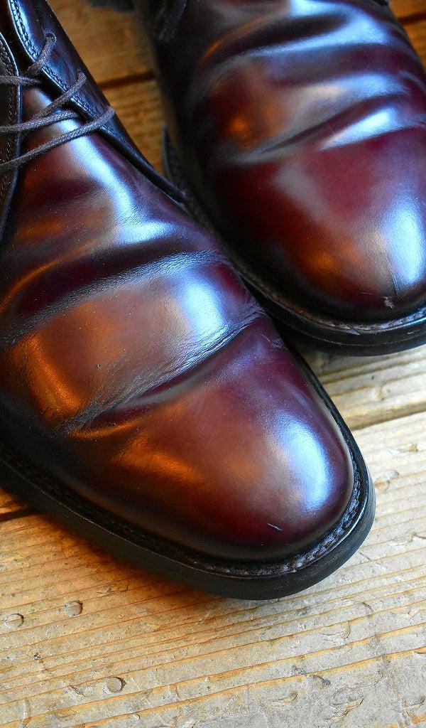 良質革靴レザーシーズ茶黒エンジ@古着屋カチカチ