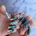 アニマル柄人気急上昇!?   private nail salon-comfort-