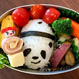 お弁当(初パンダ)の画像