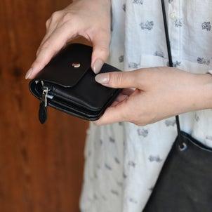 小さめバッグにミニマム財布40代バッグの中身!の画像