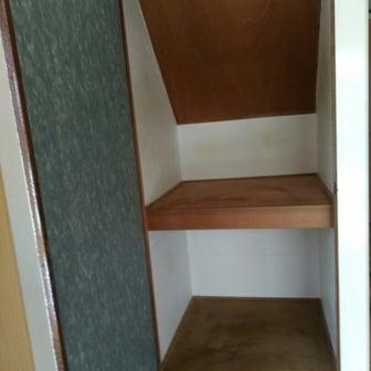 階段下の収納庫(押入れ)リフォーム