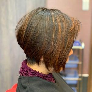 ハイライトヘナ上級者にも美髪メンテナンスの画像