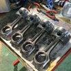 FD2強化コイルキット取り付け、K20A改戸田レーシング2150ヘッド組付け♫