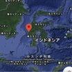 1月15日地震予想。インドネシアM6.2