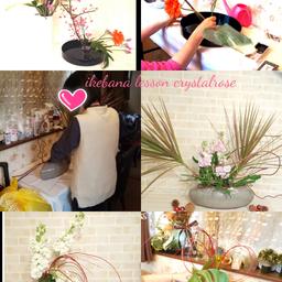 画像 美しいお花をハイセンスにいけて飾れる日本のいけばな~草月流いけばな資格コースレッスン の記事より 1つ目