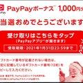 ☆当選・コカコーラPayPay1000円分とカフェオーレ☆