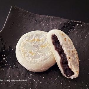 和菓子教室♪人気の旅のお土産シリーズ☆今回は梅ヶ枝餅!簡単レシピでお家で熱々が食べられます♪の画像
