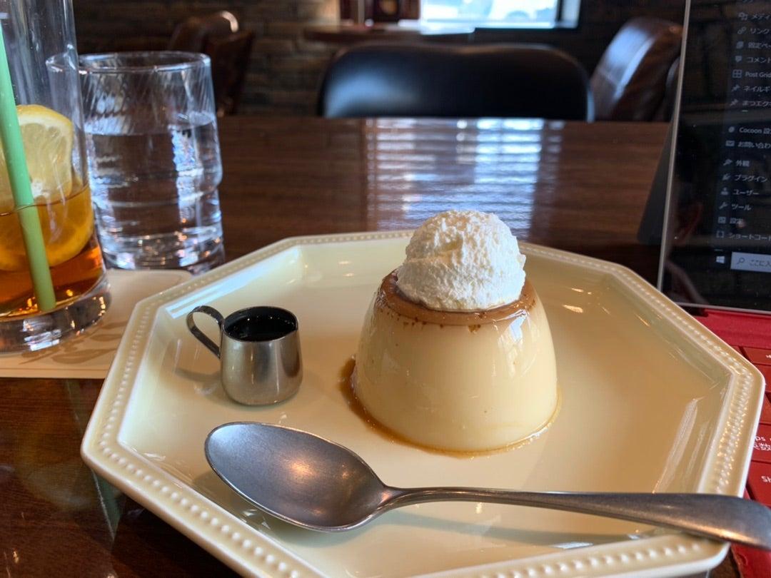 お休みは、カフェでブログタイム♡