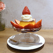 浅草 フェブラリーカフェ いちごのプリンアラモード