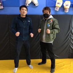 画像 マルワジム横浜 猿丸ジュンジ選手が来てくれました の記事より