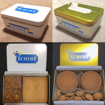 念願のエシレのクッキー