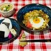 あきちゃんちのラララ♪お弁当♪炭水化物祭りだよ‼︎焼きそばでお昼ごはん編
