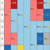 ご予約状況→2021年1月18日〜1月31日までの画像