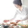 山形県鶴岡市野菜の恵み オンラインレッスン 赤ネギのグラチネ
