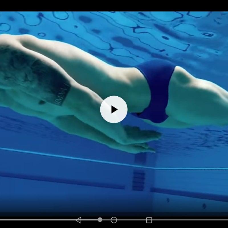 かき けり ひと ひと 平泳ぎ