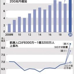 画像 豊かな日本で飢餓人口が急上昇!世界で富裕層の資産増っておかしくない? の記事より 3つ目