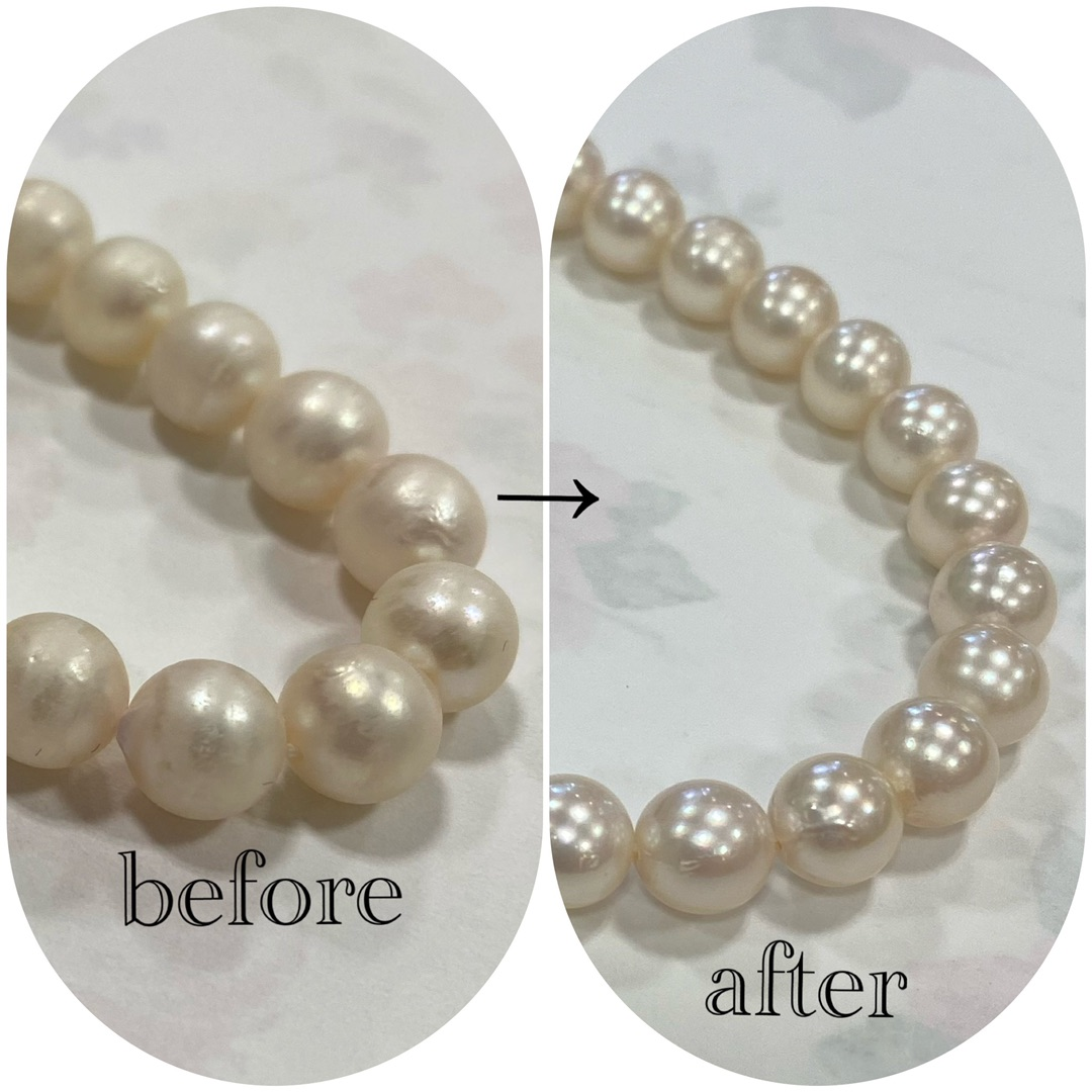 真珠クリーニング 真珠ネックレス