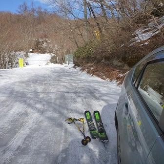 那須・日の出平(南峰)スキー…初めての場所はワクワク
