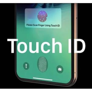 「iPhone13」、ディスプレイ下埋込み型Touch IDの認識範囲は広く、動作も速いよ!の画像