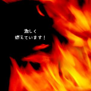 激しく燃えていますの画像