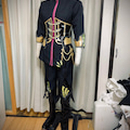 Fate/grand orderアマデウスモーツァルトのコスプレ衣装製作④