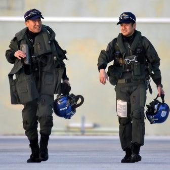 20210120 本日のブルーインパルス 基地上空訓練