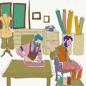 絵話  裏参道アパート 202号室 アトリエの2人の画像
