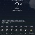 そこそこ寒くなる?(´・ω・`)