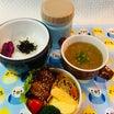 あきちゃんちのラララ♪お弁当♪あったまるよ‼︎大根スープ&鶏の照り焼き弁当編