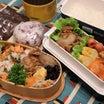 生姜焼きと焼鮭弁当☆調理器具まとめ買い(お兄ちゃん用)