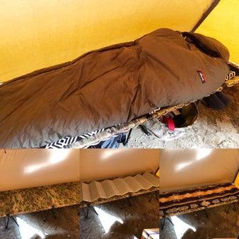 【超冷え性】ナンガ別注オーロラ800DXを冬キャンプで実証レビュー