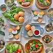 究極の節約レシピ「ゆで卵と豆腐のヘルシーコロッケ」