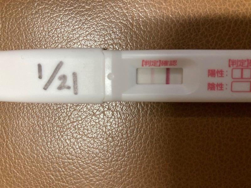 妊娠 検査 薬 陽性 画像