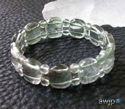 緑庭園水晶 ブレスレット B-03-6-1