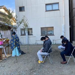 静岡葵モデルの地鎮祭でした(*^-^*)の画像
