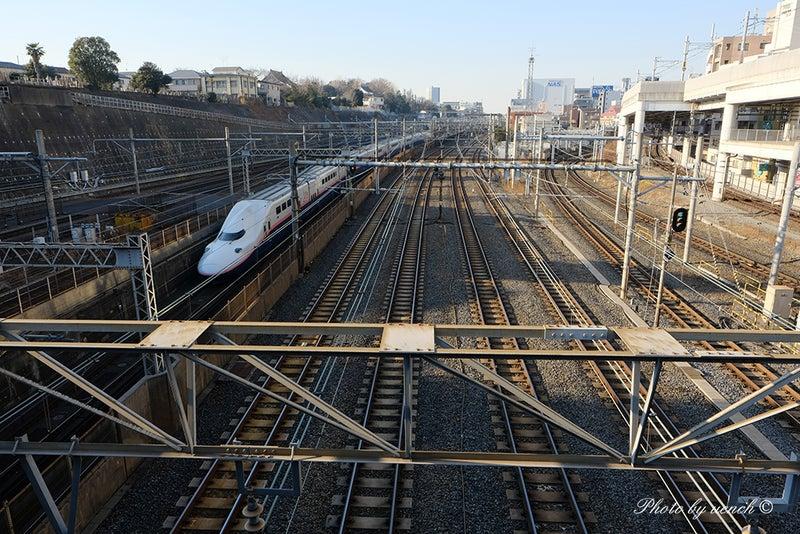 下御隠殿坂橋は鉄道のビュースポット