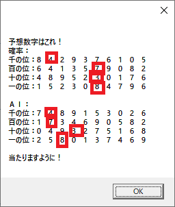 4予想 ナンバーズ