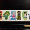【ピアノアドヴェンチャー】ピアノフレンズのカードがお年玉プレゼントで当たりました(^o^)の画像