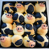 モーモーちぎりパン&フェルトモーモー帽子♪の画像