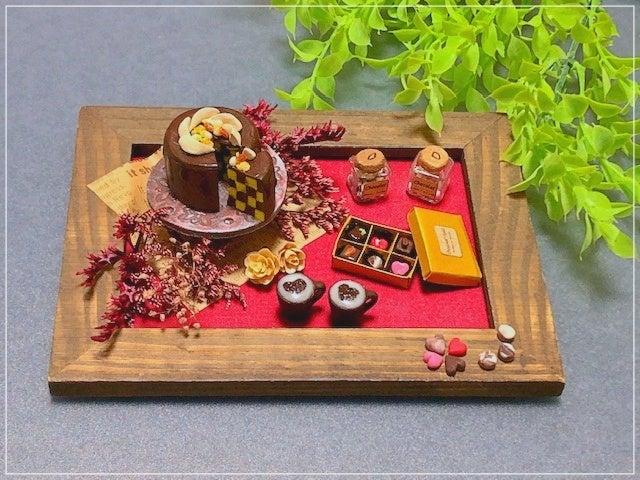 ミニチュア クレイクラフト ケーキ