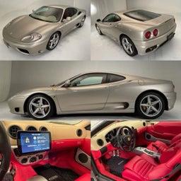 画像 フェラーリ360モデナが入庫致しました の記事より