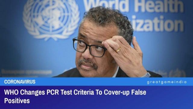 プロローグ ───WHOは責任を回避。後は各国政府の責任ということですね。WHO、【要約】PCRの方針を正式に変更[GREATGAMEINDIA]2021…