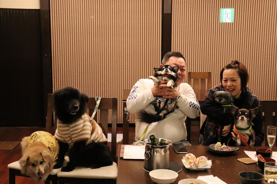 2021.1.23 ご宿泊のワンちゃん達の笑顔☆の記事より