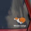 ウェルシュ・コーギーのステッカーの画像