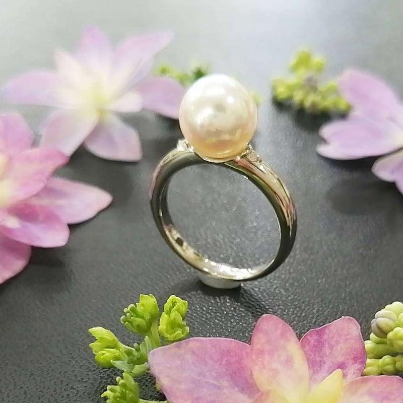 真珠パールネックレス糸替え・ジュエリー修理・アクセサリー修理・ジュエリーリフォーム・宝石修理・ネックレス修理・指輪リフォーム・necklace・真珠パールリング指輪