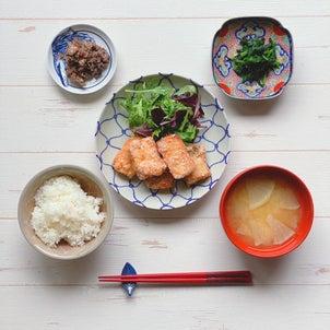 ある日のお魚ごはん【簡単レシピつき】の画像