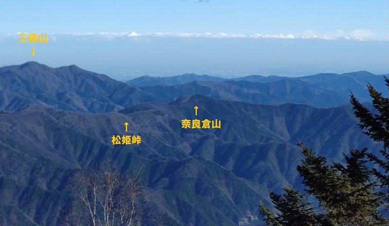秀麗富嶽十二景5番山頂「奈良倉山」リベンジの巻! | 東京砂漠。きーの戯言