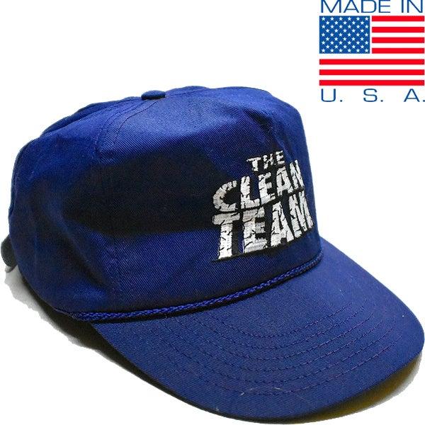 USA古着ネイビーキャップ帽子@古着屋カチカチ